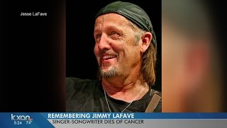 Austin Singersongwriter Jimmy LaFave Dead At 61