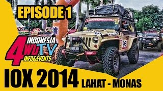 Lahat Indonesia  city photos gallery : Indonesia Off-road eXpedition ( IOX ) 2014 Lahat - Monas Episode 1