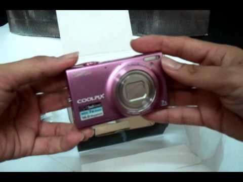 Nikon Coolpix S6150 Unboxing