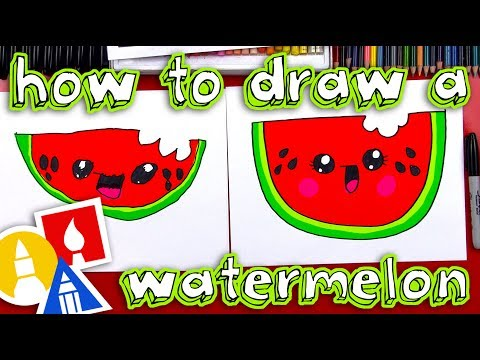 Video How To Draw A Cartoon Watermelon download in MP3, 3GP, MP4, WEBM, AVI, FLV January 2017