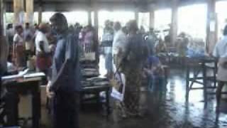 Chilaw Sri Lanka  City new picture : SRI LANKA CHILAW FISH MARKET