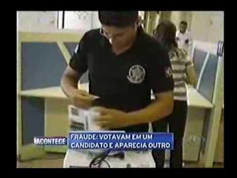 Fraude nas Urnas Eletrônicas - Eleições de 2012 - Caxias-MA