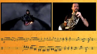 Download Lagu How to Train Your Dragon - Counter Attack || French Horn & Trumpet Cover Mp3