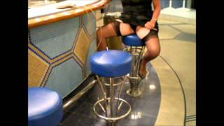 Stockings On A Bar Stool