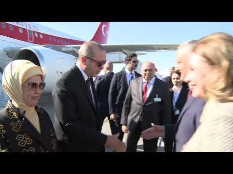 Președintele Igor Dodon l-a întîmpinat în Aeroport pe Președintele Turciei