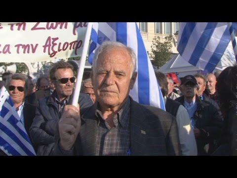 Συγκέντρωση διαμαρτυρίας αποστράτων και εν ενεργεία στελεχών