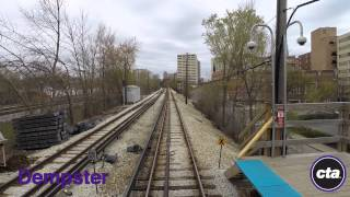 CTA Ride the Rails: Purple Line to Linden in Real