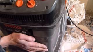 Обратная  продувка  фильтра    на  пылесосе   Protool