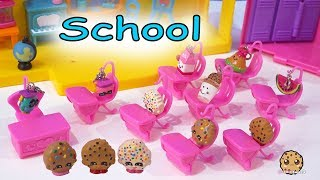 Video School Day ! Shopkins Cookie Kids and Classroom of Students - Toy Video MP3, 3GP, MP4, WEBM, AVI, FLV Maret 2019