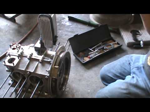 how to install a flywheel and seal on vw 1600