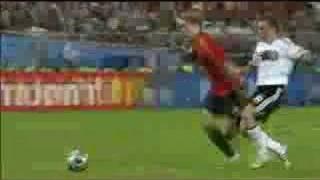 EM 2008: Fernando Torres trifft im Finale gegen Deutschland