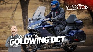8. HONDA GOLDWING TOURING DCT AIRBAG | TEST 2018