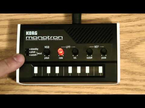 korg - To purchase the Korg Monotron visit our website: http://www.uniquesquared.com/korg-monotron-analog-ribbon-synth.html For pro audio questions, tips, and advic...