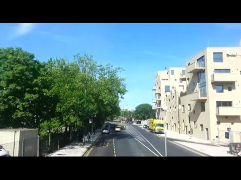 (HD) Route 303 Visual – Edgware to Colindale (видео)