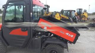 4. Kubota RTV1100 Utility Vehicle For Sale