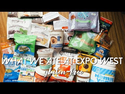 What We Ate At EXPO WEST | GLUTEN-FREE
