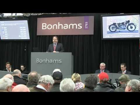 Stafford, April 2012 - Bonhams Auction - 1939 Vincent-HRD 998cc Series-A Rapide