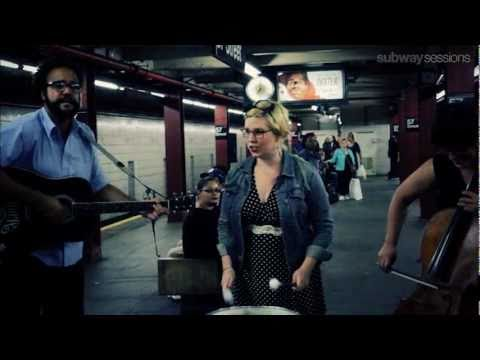 reverend - Pearl and the Beard perform Reverend for Subway Sessions at the 57th St F.