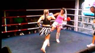 Wolf Pack Stables Kimi Law 2nd Fight Round 3