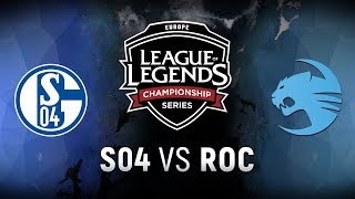 Video S04 vs. ROC - Week 5 Day 2 | EU LCS Spring Split |  FC Schalke 04 vs. Team Roccat (2018) MP3, 3GP, MP4, WEBM, AVI, FLV Juni 2018