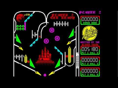 Advanced pinball simulator - world of spectrum