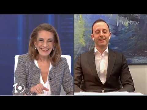 Ο Γρηγόρης Δημητριάδης στο «10» | 31/03/2020 | ΕΡΤ