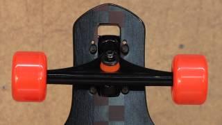 Santa Cruz Pomona Drop Through Cruzer Longboard Complete 2012