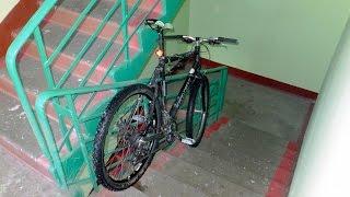 Что будет если скинуть велосипед с 14-го Этажа? - Первое видео на ютубе
