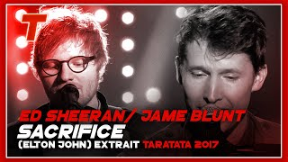 "Video Ed Sheeran / James Blunt ""Sacrifice"" (Elton John) (2017) MP3, 3GP, MP4, WEBM, AVI, FLV Januari 2018"