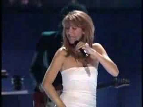 Celine Dion - I'm Alive (Live)