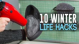 10 Amazing Winter Life Hacks