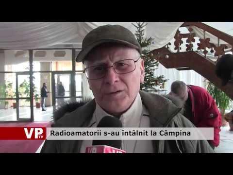 Radioamatorii s-au întâlnit la Câmpina