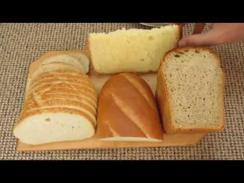 Дрожжевой и бездрожжевой хлеб - какой плесневеет быстрее - DomaVideo.Ru