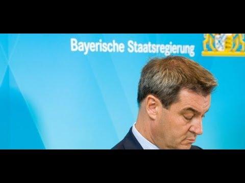BAYERNTREND: CSU auf historischen Tiefstand – Grüne v ...
