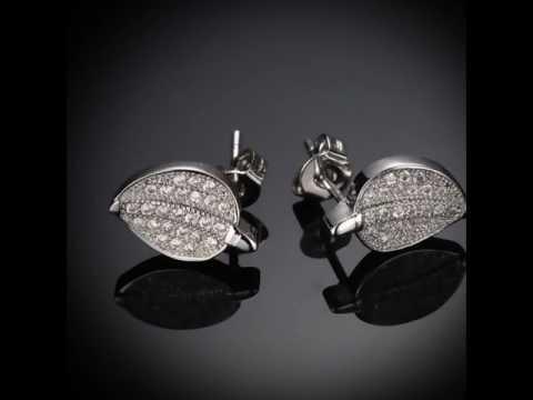 sterling silver earrings,silver stud earrings