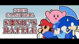 Super Smash Bros. – Sonic's Battle (Animation)