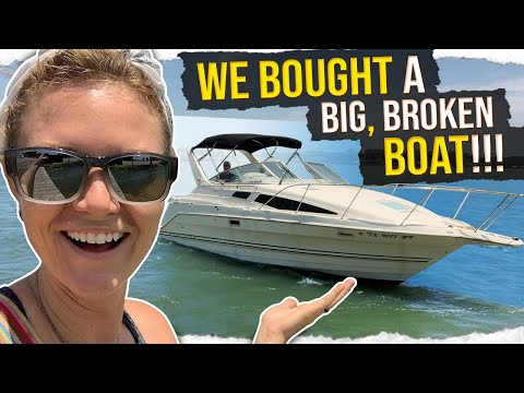 5k dollar BIG BLOCK powered BROKEN BOAT, ACQUIRED!!!