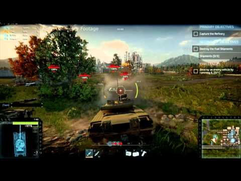 footage - Armored Warfare | http://armoredwarfare.com Obsidian Entertainment & My.com are excited to show you our world premier public gameplay footage as shown exclusively at PAX Prime 2014 on Saturday,...