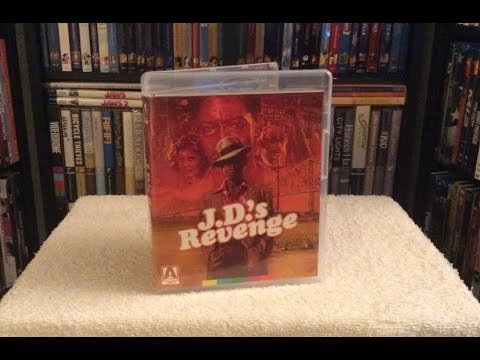 J.D.'s Revenge BLU RAY UNBOXING + Review - Arrow Video
