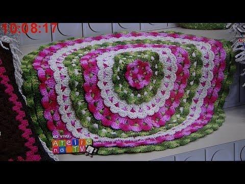 Tapete Rendado Redondo- Ateliê na TV