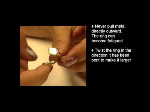 Jewelry: How To Adjust Adjustable Rings