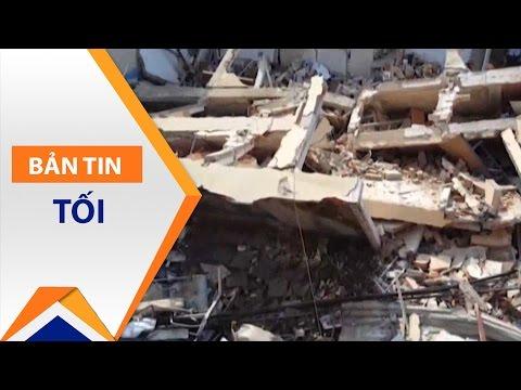 Bình Định: Sập nhà 3 tầng, 4 người tử vong | VTC1 - Thời lượng: 29 giây.