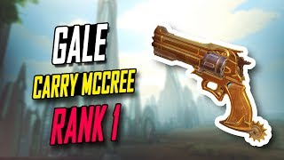 [RANK 1] GALE INSANE MCCREE 15K DMG! 45 KILLS!! [ OVERWATCH TOP 500 SEASON 5 ] ▻ Video Source : GaleAdelade...