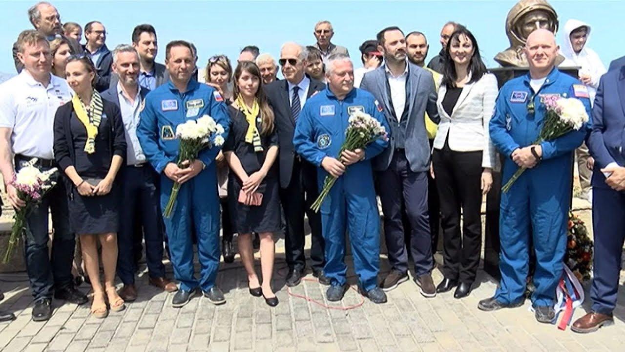 Παρουσία της Έλενας Κουντουρά και Ρώσων κοσμοναυτών εγκαινιάστηκε το πάρκο Γιούρι Γκαγκάριν