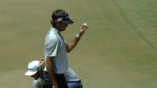 Bubba Watson gets a lucky break on No. 16 at THE PLAYERS by PGA TOUR