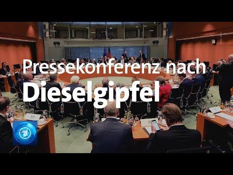 Diesel-Gipfel: Fast eine Milliarde Euro zusätzlich  ...