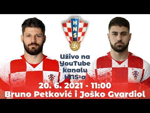 Konferencija za medije (Petković, Gvardiol) 20.06.2021. 11:00 Rovinj