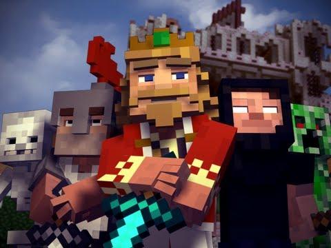 """Fallen Kingdom"" - A Minecraft Parody of Coldplay's Viva la Vida (Music Vid..."