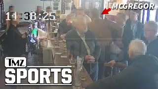 Video of Conor McGregor Punching Old Man in Head in Whiskey Dispute | TMZ Sports
