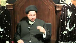 "8th Night of Muharram: ""How Can Mankind Elevate Above The Angels ...?"" by Sayed Mothafar Al-Qazwini"